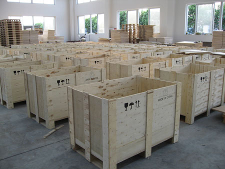 木托盘包装箱