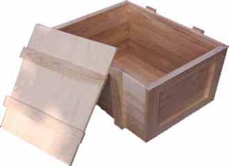小型木包装箱