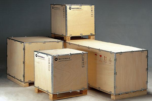 轮式钢边箱