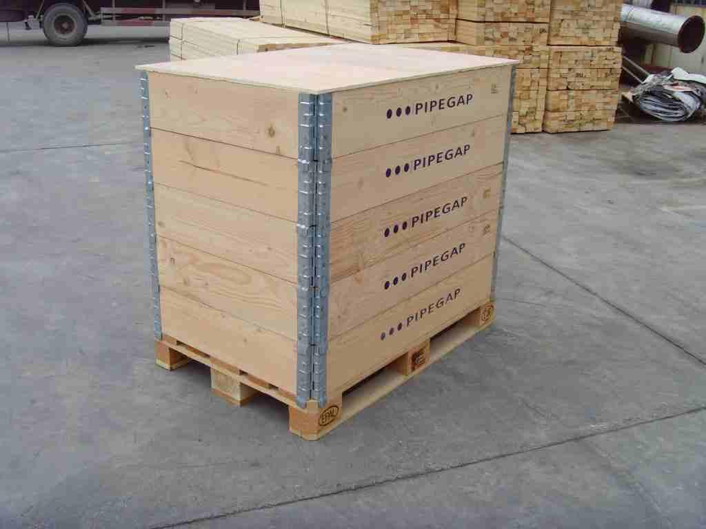 木质围板箱